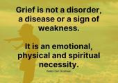 Your grief is unique