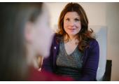 Fiona Prentis with client