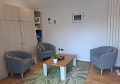 Interior of counselling space