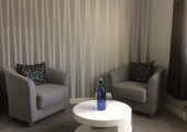 Unique  counselling room<br />'Calming environment'