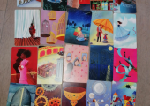 Dixit cards, used in creative counselling