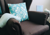 Therapy Room<br />Soft, comfortable chairs