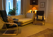 This is an image of one of the counselling rooms