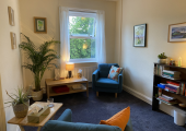 My counselling room in Wakefield