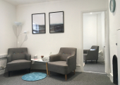 Consulting room at The Ware Clinic