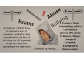 Cousnelling for chidlren and young people<br />contact us for further information