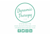 Dynamic Therapy Logo. www.dynamictherapy.club<br />Dynamic Therapy Club is my therapy practice offering a variety of solutions to support people in their time of need
