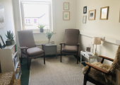 Private therapy room in central Harrogate