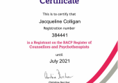 BACP Registered Member no: 384441 MBACP