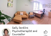 Sally Jenkins Psychotherapist and Counsellor Facebook page