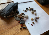 Working creatively with stones