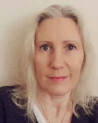 Karolina Christopher, UKCP-registered integrative psychotherapist and counsellor