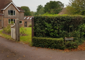 Roadside view of Maple Tree Therapy private practice offices in Denmead