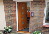 Entrance to my private practice office - Denmead
