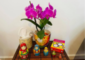 Working creatively with nesting dolls
