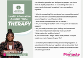 Counselling Information.