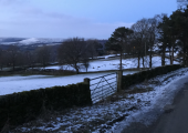 Derbyshire Level in the snow