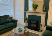 One of the Solace counselling rooms