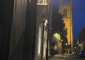 Nestled in the heart of the cathedral quarter