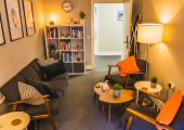 Psychology Scotland therapy room