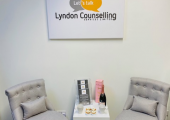Our counselling room on launch day