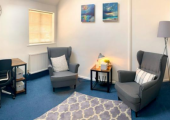 Counselling room at Worting House, Basingstoke