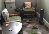 My lovely, relaxing therapy room