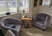 My counselling space in Nantwich