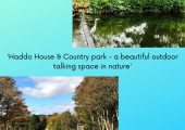 For clients choosing to take their therapy outdoors, we meet at beautiful Haddo in Aberdeenshire