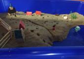 Sand tray work