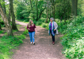 walk and talk therapy may suit you
