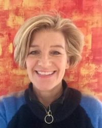 Helen Orr,  RGN, OHN Dip., PG Dip. Counselling. Registered BACP member
