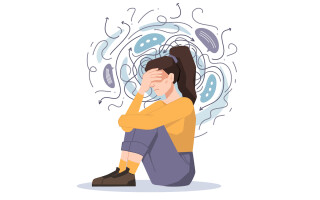 Why is my anxiety worse at night and what can I do?
