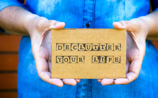 Five ways to unclutter your life