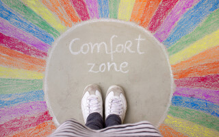 Comfort zone: In or out?