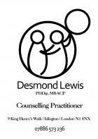 Desmond Lewis PDDip MBACP