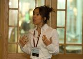 Denise presenting