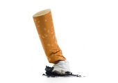 Quit smoking<br />Put out that cigarette before it puts out you!