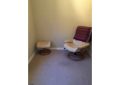Hypnotherapy room<br />Quiet confidential location