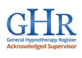 GHR Acknowledged Hypnotherapist Supervisor<br />Adrian Sonnex has been awarded Hypnotherapist Supervisor status by the General Hypnotherapy Register GHRl H