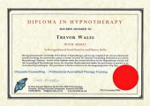 Trevor Wales Hypnotherapy Solutions Diploma