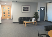 Visitors lounge for Peaceful Minds