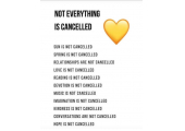 Not everything is cancelled<br />Keep Safe