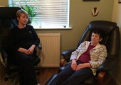 Hypnotherapy in my treatment room