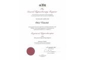 GHR Certificate