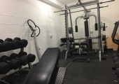 Hypno House (Gym)<br />After 30 years of training, 50kg Dumbells are enough for me nowadays.
