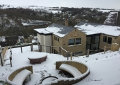 Hypno House, Holmfirth (view from the circular seating area)