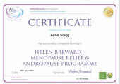 Menopause and Andropause training certificate
