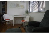 Therapy room - A tranquil space for discussion and relaxation