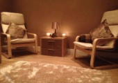 Our relaxing therapy room